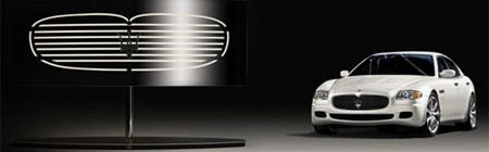 Maserati lamp by Lumina