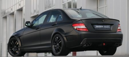 Mercedes C klasse Brabus Bullit Black Arrow