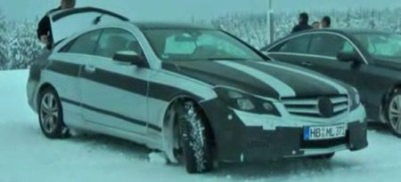 Mercedes E-Klasse Coupe spyshot