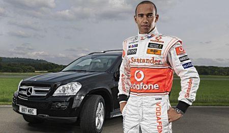 Mercedes GL320 CDI Lewis Hamilton