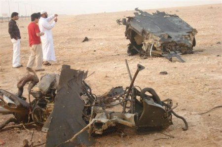 Mercedes McLaren SLR crash Qatar