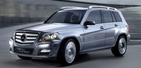 Mercedes Vision GLK BLUETEC Hybrid