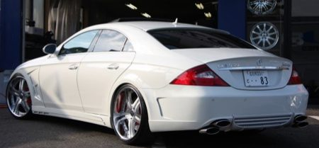 Merc CLS 550 Job Design