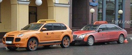 Moskouse taxi