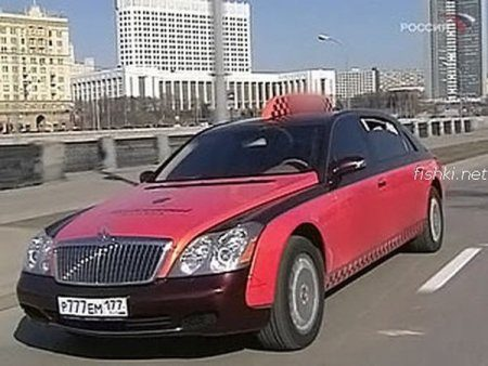 Moskouse taxi's