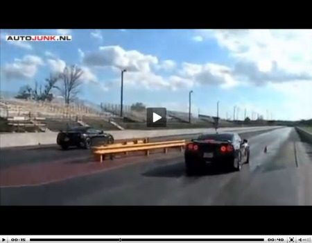 Nissan GT-R dragstrip video