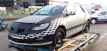 Opel Astra op schiphol