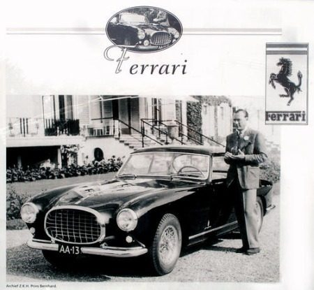 Pininfarina Ferrari 212 Inter AA13 Prince Bernhard