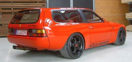 Porsche dp944 cargo