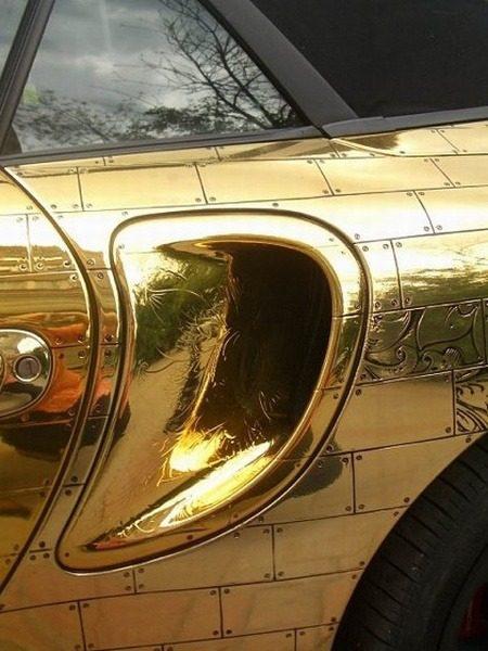 Gouden Porsche