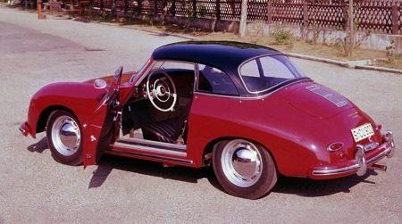 Porsche 356A hardtop cabrio