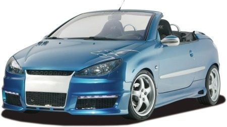 Peugeot 206 cc door RDX Racedesign