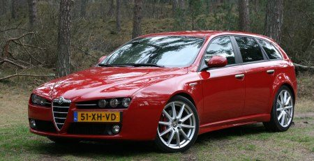 rijtest alfa romeo 159 sportwagon 3 2 jts q4 ti. Black Bedroom Furniture Sets. Home Design Ideas