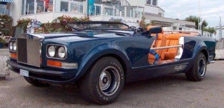 Rolls Royce Camargue Sbarro hunting car