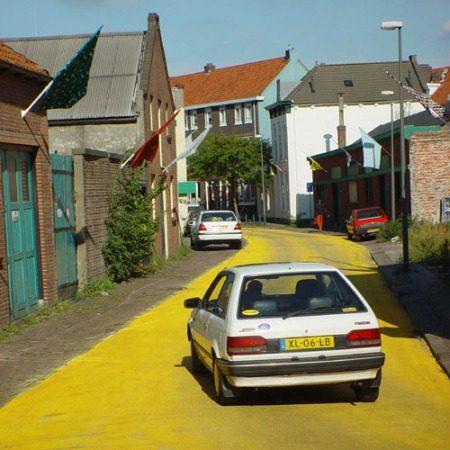 Schiedam, Yellow Brick Road