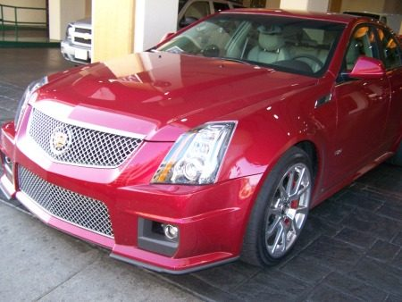 Top Gear in USA Cadillac CTS-V
