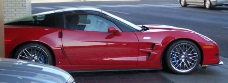 Top Gear in USA Corvette ZR1