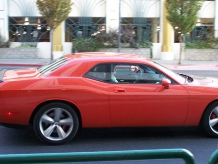 Top Gear in USA Dodge Challenger
