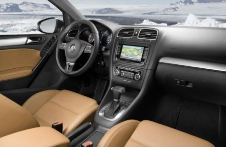 VW Golf VI interieur