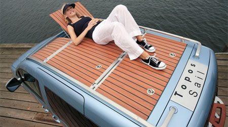 Caddy Topos Sail Concept
