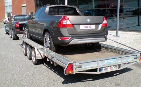 Volvo XC70 pickup