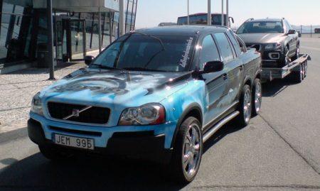 Volvo XC90 pickup
