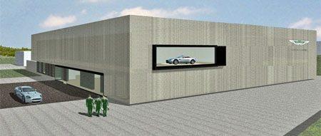 Aston Martin Nürburgring testcenter