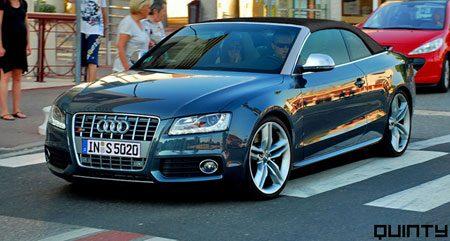 Audi S5 Cabrio photoshop