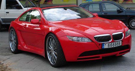 BMW 6-serie pimped
