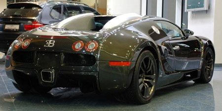 Bugatti Vincero by Mansory