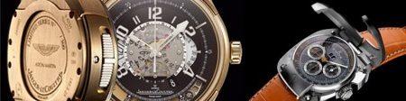 Horloges: Aston Martin en Koenigsegg
