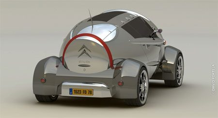Citroën 2CV David Portela Concept