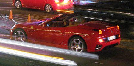 Ferrari California in California