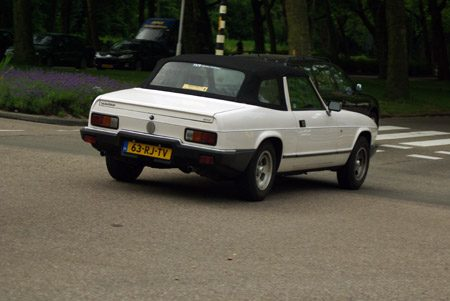 Reliant Scimitar GTC - Foto Jim Appelmelk
