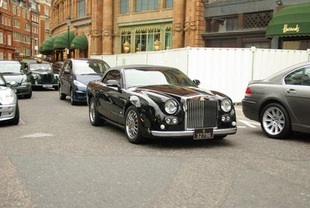 Would-Be Mitsuoka Galue Drophead Coupé - Foto Jim Appelmelk