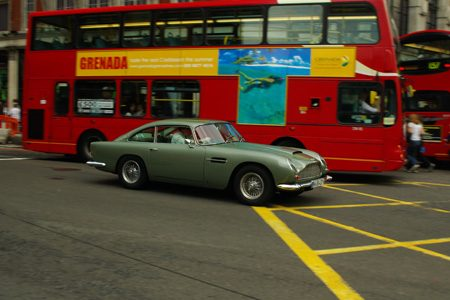Aston-Martin DB5- Foto Jim Appelmelk