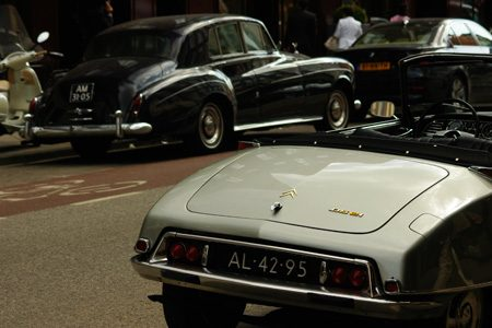 Citroën DS 21 Décapotable en Rolls-Royce Silver Cloud III - Foto Jim Appelmelk