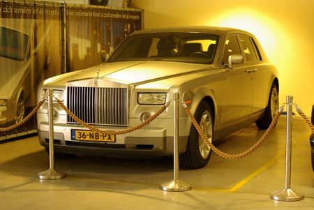 Bentley Azure en Rolls-Royce Phantom - Foto Jim Appelmelk