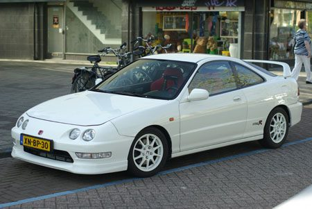 Honda Integra Type R - foto Jim Appelmelk