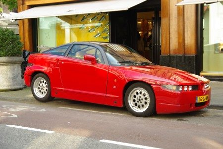 Alfa Romeo SZ - foto Jim Appelmelk