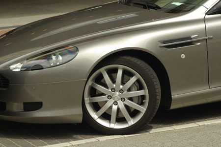 Aston-Martin DB9 - Foto Jim Appelmelk