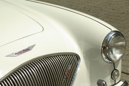 Austin-Healey 100/4 - Foto Jim Appelmelk