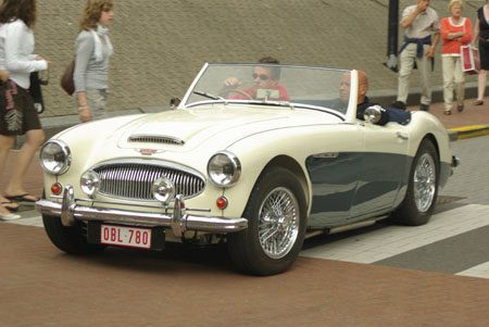 Austin-Healey 3000 - Foto Jim Appelmelk