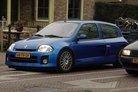 Renault Clio V6 - Foto Jim Appelmelk