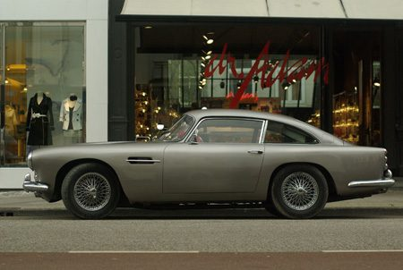 Aston-Martin DB4 - Foto Jim Appelmelk