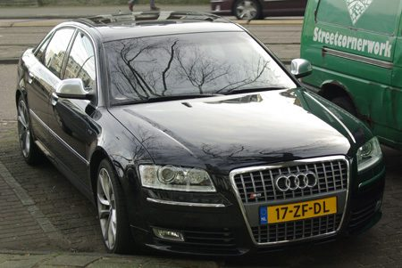 Audi S8 facelift - Foto Jim Appelmelk