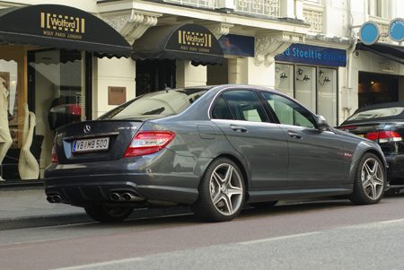 Mercedes-Benz C63 AMG - Foto Jim Appelmelk