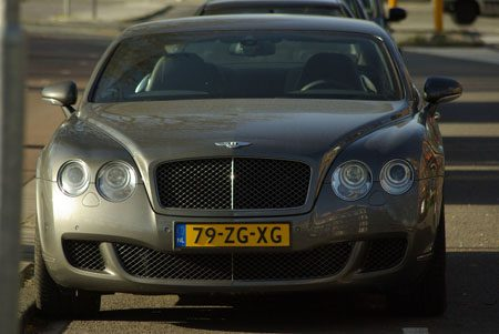 Bentley Continental GT Speed - Foto Jim Appelmelk