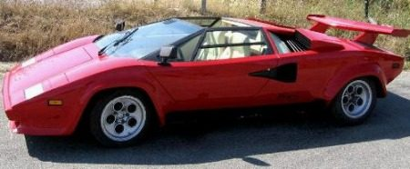 Lamborghini Countach LP400 Spider