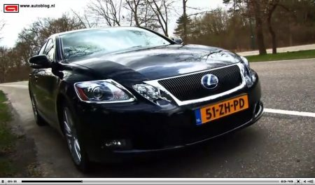 Lexus GS450h op video